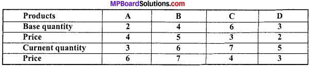 MP Board Class 11th Economics Important Questions Unit 3 Statistical Tools and Interpretation img 13