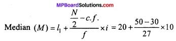 MP Board Class 11th Economics Important Questions Unit 3 Statistical Tools and Interpretation img 21