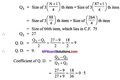 MP Board Class 11th Economics Important Questions Unit 3 Statistical Tools and Interpretation img 32
