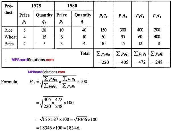MP Board Class 11th Economics Important Questions Unit 3 Statistical Tools and Interpretation img 60