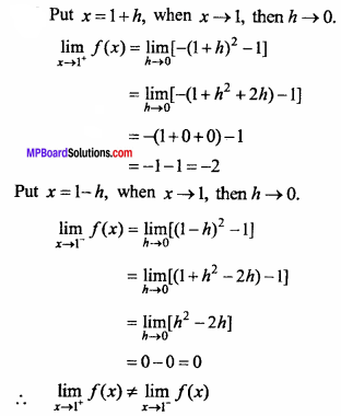 MP Board Class 11th Maths Important Questions Chapter 13 Limits and Derivatives 29