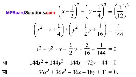 MP Board Class 11th Maths Solutions Chapter 11 शंकु परिच्छेद Ex 11.1 img-1