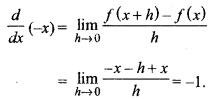 MP Board Class 11th Maths Solutions Chapter 13 सीमा और अवकलज विविध प्रश्नावली img-1