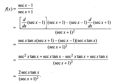 MP Board Class 11th Maths Solutions Chapter 13 सीमा और अवकलज विविध प्रश्नावली img-19