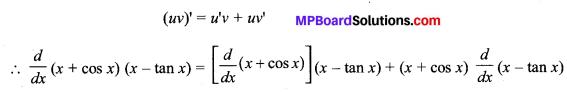 MP Board Class 11th Maths Solutions Chapter 13 सीमा और अवकलज विविध प्रश्नावली img-27