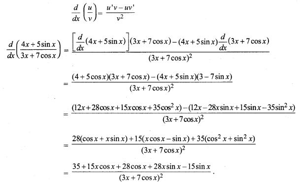 MP Board Class 11th Maths Solutions Chapter 13 सीमा और अवकलज विविध प्रश्नावली img-28