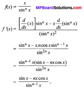 MP Board Class 11th Maths Solutions Chapter 13 सीमा और अवकलज विविध प्रश्नावली img-33