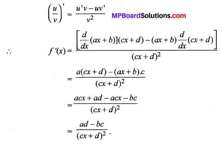 MP Board Class 11th Maths Solutions Chapter 13 सीमा और अवकलज विविध प्रश्नावली img-9