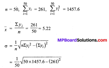 MP Board Class 11th Maths Solutions Chapter 15 सांख्यिकी Ex 15.3 img-13