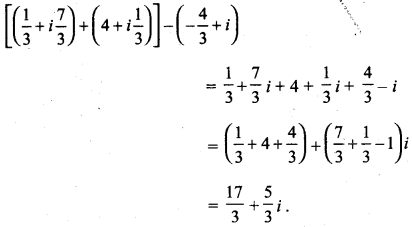 MP Board Class 11th Maths Solutions Chapter 5 सम्मिश्र संख्याएँ और द्विघातीय समीकरण Ex 5.1 img-3