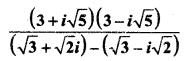 MP Board Class 11th Maths Solutions Chapter 5 सम्मिश्र संख्याएँ और द्विघातीय समीकरण Ex 5.1 img-9