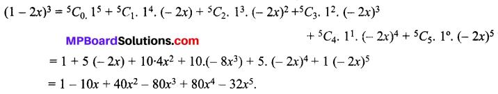 MP Board Class 11th Maths Solutions Chapter 8 द्विपद प्रमेय Ex 8.1 img-1