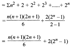 MP Board Class 11th Maths Solutions Chapter 9 अनुक्रम तथा श्रेणी Ex 9.4 img-10
