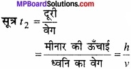 MP Board Class 11th Physics Solutions Chapter 15 तरंगें image 1