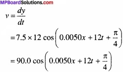 MP Board Class 11th Physics Solutions Chapter 15 तरंगें image 7