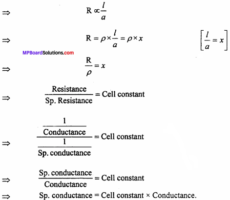 MP Board Class 12th Chemistry Important Questions Chapter 3 Electrochemistry 5