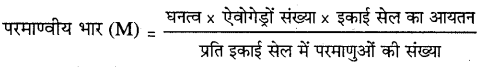 MP Board Class 12th Chemistry Solutions Chapter 1 ठोस अवस्था - 2