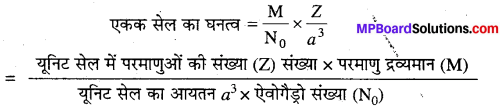 MP Board Class 12th Chemistry Solutions Chapter 1 ठोस अवस्था - 31