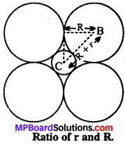 MP Board Class 12th Chemistry Solutions Chapter 1 The Solid State - 12