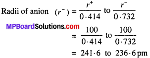 MP Board Class 12th Chemistry Solutions Chapter 1 The Solid State - 32