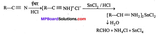 MP Board Class 12th Chemistry Solutions Chapter 12 ऐल्डिहाइड्स, कीटोन्स तथा कार्बोक्सिलिक अम्ल - 115
