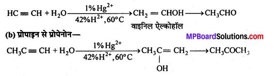 MP Board Class 12th Chemistry Solutions Chapter 12 ऐल्डिहाइड्स, कीटोन्स तथा कार्बोक्सिलिक अम्ल - 123
