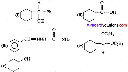 MP Board Class 12th Chemistry Solutions Chapter 12 ऐल्डिहाइड्स, कीटोन्स तथा कार्बोक्सिलिक अम्ल - 33