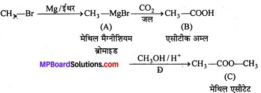 MP Board Class 12th Chemistry Solutions Chapter 12 ऐल्डिहाइड्स, कीटोन्स तथा कार्बोक्सिलिक अम्ल - 77