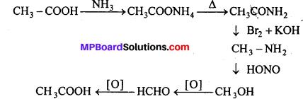 MP Board Class 12th Chemistry Solutions Chapter 12 ऐल्डिहाइड्स, कीटोन्स तथा कार्बोक्सिलिक अम्ल - 92