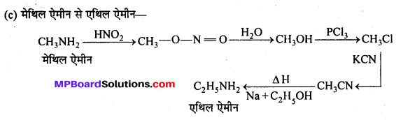 MP Board Class 12th Chemistry Solutions Chapter 13 ऐमीन - 102