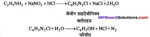 MP Board Class 12th Chemistry Solutions Chapter 13 ऐमीन - 110
