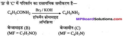 MP Board Class 12th Chemistry Solutions Chapter 13 ऐमीन - 50
