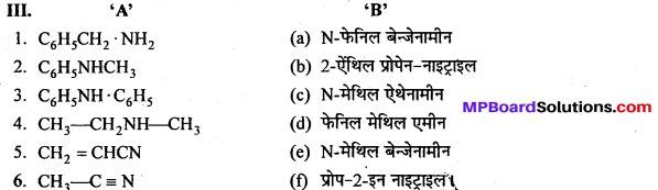 MP Board Class 12th Chemistry Solutions Chapter 13 ऐमीन - 68