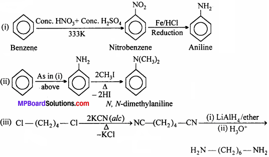 MP Board Class 12th Chemistry Solutions Chapter 13 Amines - 3