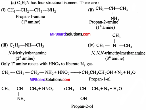 MP Board Class 12th Chemistry Solutions Chapter 13 Amines - 7