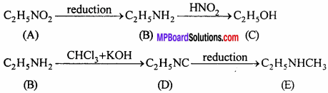MP Board Class 12th Chemistry Solutions Chapter 13 Amines - 81