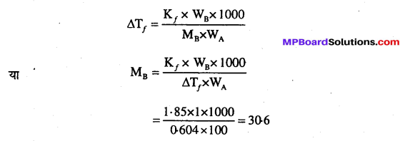MP Board Class 12th Chemistry Solutions Chapter 2 विलयन - 52