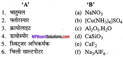 MP Board Class 12th Chemistry Solutions Chapter 6 तत्त्वों के निष्कर्षण के सिद्धान्त एवं प्रक्रम - 35
