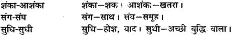 MP Board Class 12th General Hindi व्याकरण समोच्चारित भिन्नार्थक शब्द img-3