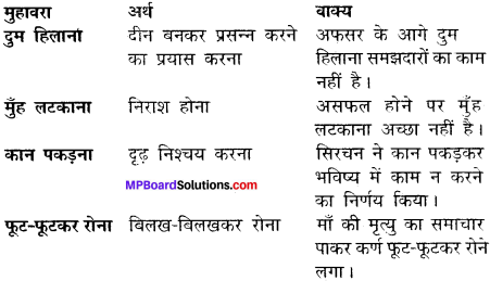 MP Board Class 12th Hindi Makrand Solutions Chapter 3 ठेस img-2