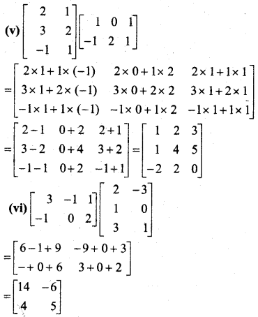 MP Board Class 12th Maths BooK Solutions Chapter 3 आव्यूह Ex 3.2 img 11