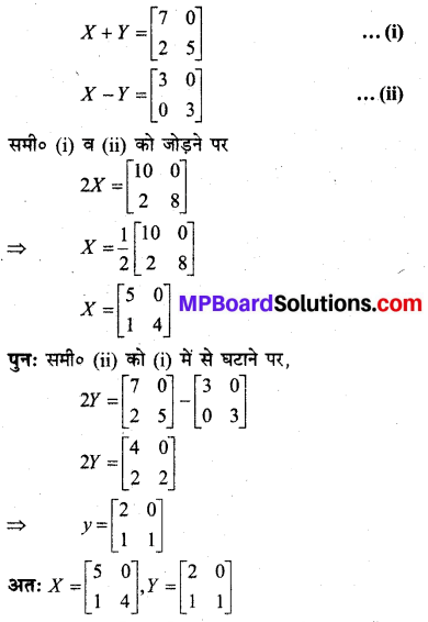MP Board Class 12th Maths BooK Solutions Chapter 3 आव्यूह Ex 3.2 img 19