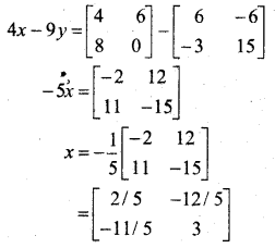 MP Board Class 12th Maths BooK Solutions Chapter 3 आव्यूह Ex 3.2 img 21