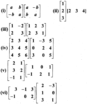 MP Board Class 12th Maths BooK Solutions Chapter 3 आव्यूह Ex 3.2 img 8