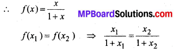 MP Board Class 12th Maths Book Solutions Chapter 1 संबंध एवं फलन विविध प्रश्नावली img 4