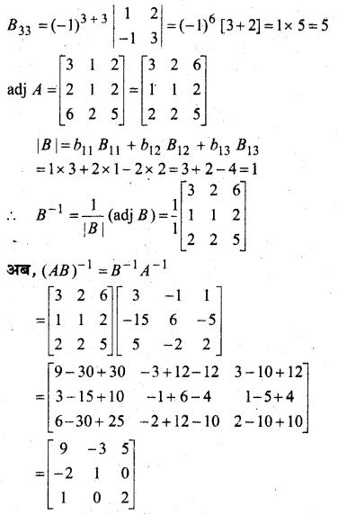 MP Board Class 12th Maths Book Solutions Chapter 4 सारणिक विविध प्रश्नावली img 18