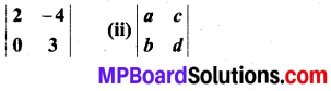 MP Board Class 12th Maths Book Solutions Chapter 4 सारणिक Ex 4.4 img 1