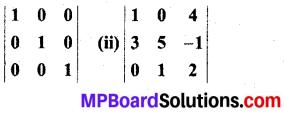 MP Board Class 12th Maths Book Solutions Chapter 4 सारणिक Ex 4.4 img 2