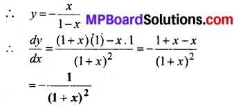 MP Board Class 12th Maths Book Solutions Chapter 5 सांतत्य तथा अवकलनीयता विविध प्रश्नावली img 19