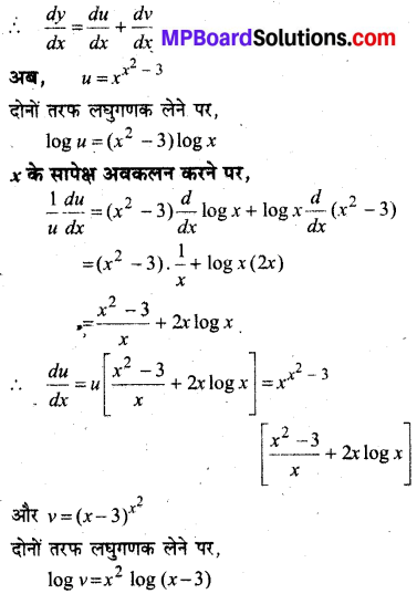 MP Board Class 12th Maths Book Solutions Chapter 5 सांतत्य तथा अवकलनीयता विविध प्रश्नावली img 38
